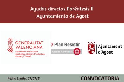 Ayudas Económicas Covid 19 - Ayuntamiento de Agost
