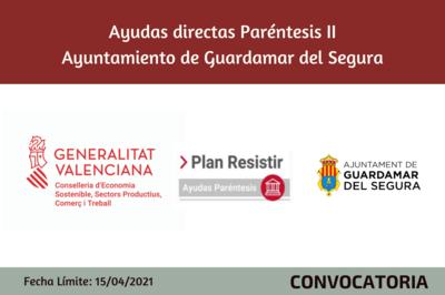 Ayudas Económicas Covid 19 - Ayuntamiento de Guardamar del Segura