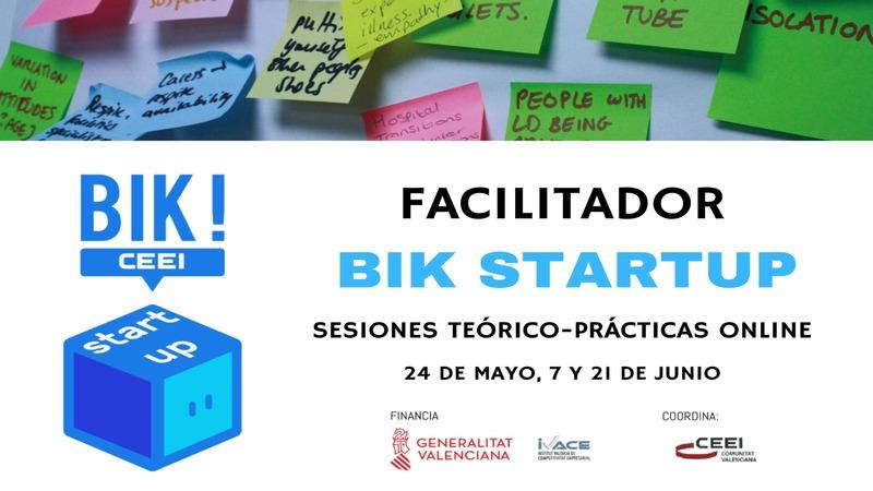 Presentación sesiones teórico-prácticas Facilitador BIK Startup