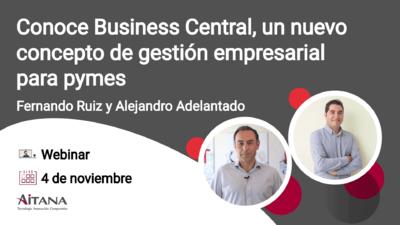 Conoce Business Central, un nuevo concepto de gestión empresarial para pymes