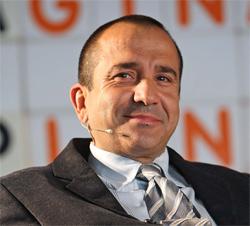 "Oscar Sanchez, creador del Blog ""Emprendedores"""