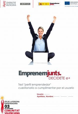 ¿Eres emprendedor? ¿Conoces tus puntos fuertes y débiles?