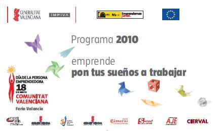 Todas las actividades del DPECV2010. Programa