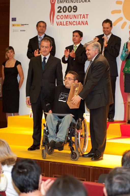 Premiado en la categoría Empresa Solidaria en 2009