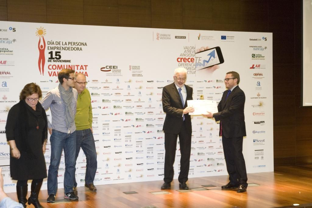 "Premio Centro educativo emprendedor ""Focus Business CV 2014"""