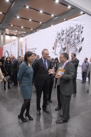 318 DPECV2012 El Presidente de la Generalitat en el Speednetworking