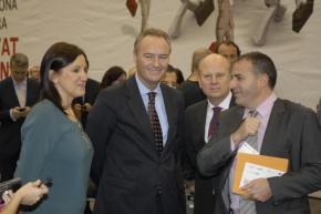 319 DPECV2012 El Presidente de la Generalitat en el Speednetworking