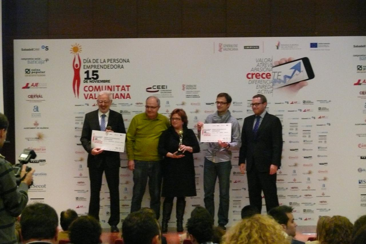 "Premio a Entidad emprendedora ""Focus Business CV 2014"""
