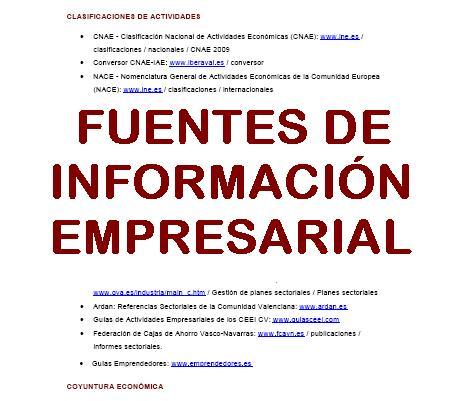 """Imágen """"Fuentes de información empresarial"""""""