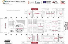 Plano 2D del Pabellón 5 Feria Valencia 2013 b
