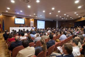Sala ADEIT durante presentación DPECV2013