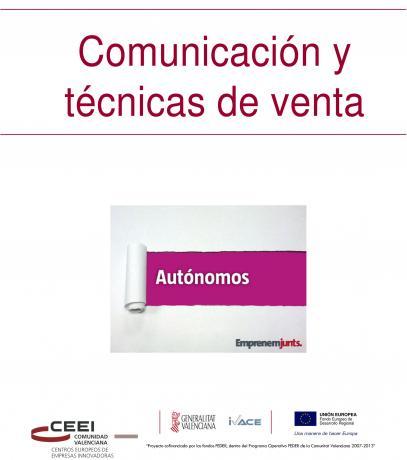 Manual para Autónomos: Comunicación y Técnicas de Venta