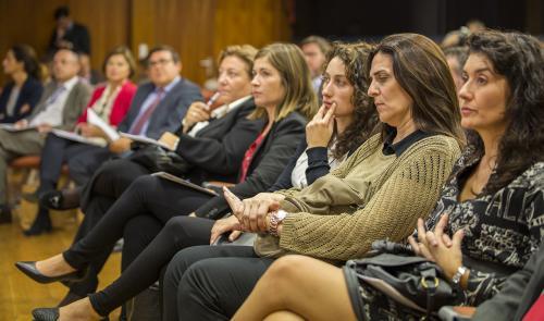 Público asistente a la presentación del #DPECV2014