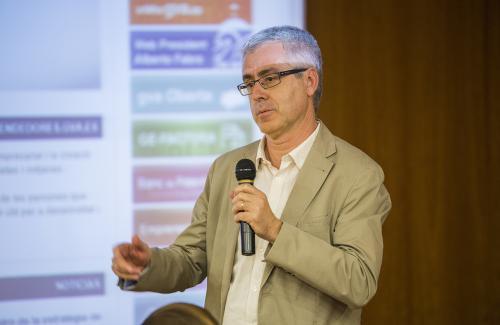 Vicente Gasent, miembro de la Secretaría Técnica DPECV2014
