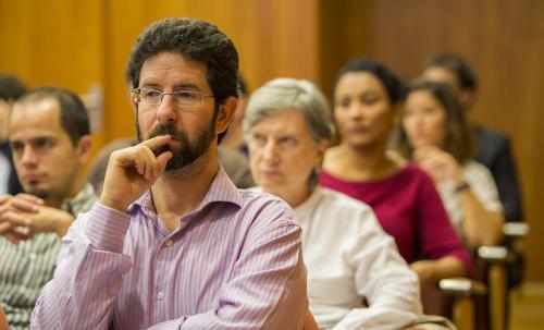 Hector Cabrera, coordinador grupo de trabajo TICs y Social Media Marketing DPECV2014