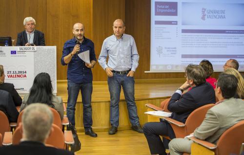 José Domingo Martínez y Javier González, presentación DPECV2014