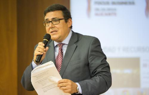 Rafael Escamilla, coordinador grupo de trabajo Europa Oportunidades