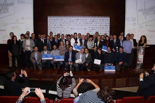 Grupo de premiados FB #DPECV2014