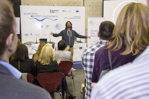 Pabellón 5. Asesoramiento - Europa Oportunidades 1 #DPECV2014