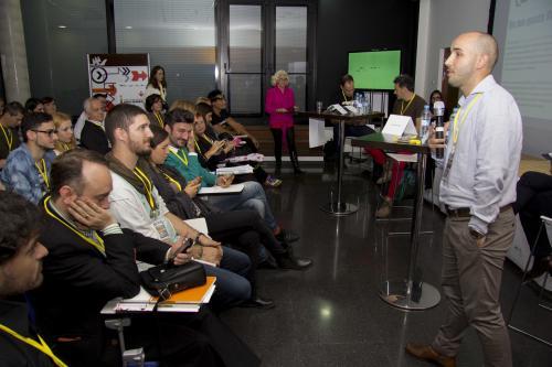 Centro de Eventos. Horchata & Twitts. #DPECV2014