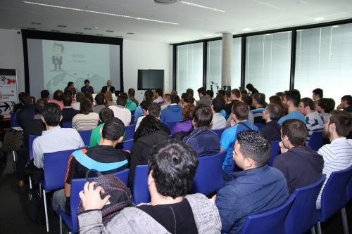 Centro de Eventos. TICs 2 #DPECV2014