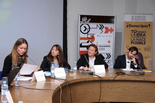 Centro de Eventos. Problemas comunes de mujeres emprendedoras. #DPECV2014