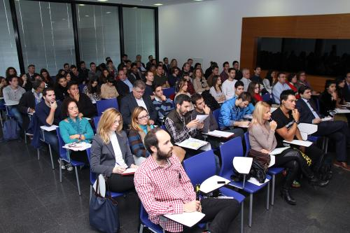 Centro de Eventos. Participantes 7. #DPECV2014