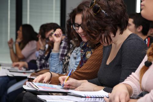 Centro de Eventos. Escuela de Negocios. #DPECV2014