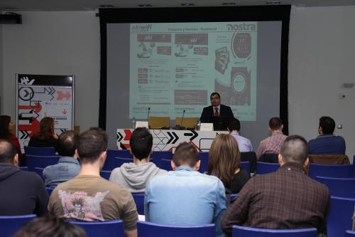 Centro de Eventos. Escuela de Negocios 2. #DPECV2014