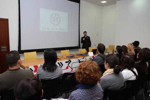 Centro de Eventos. Marketing de influencers. #DPECV2014