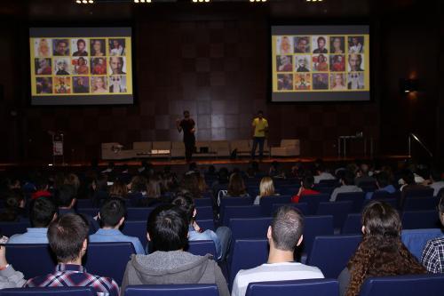 Centro de Eventos. Gamestorming. #DPECV2014