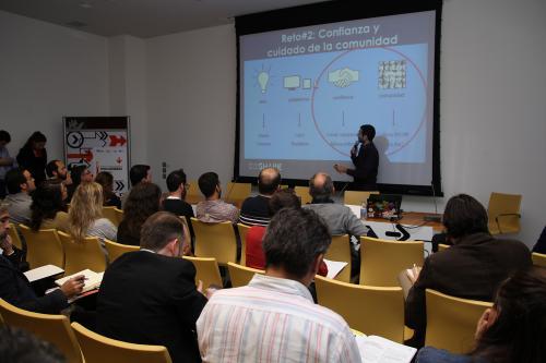Centro de Eventos. Economía Colaborativa. #DPECV2014