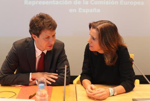 Jochen Muller y Victoria Palau