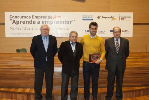 Diego Moya, finalista de Entrepreneur Experience