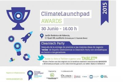Invitación ClimateLaunchpad