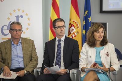 Enric Roig , Justo Vell�n, Ana Botella en el Comit� de Programaci�n del DPECV2015