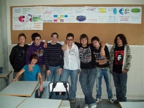 Los miembros de la Cooperativa Team A