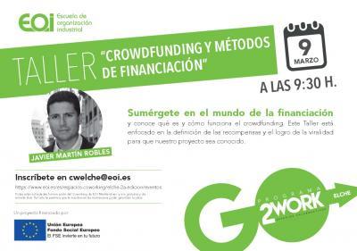 Taller Crowdfunding y métodos de financiación