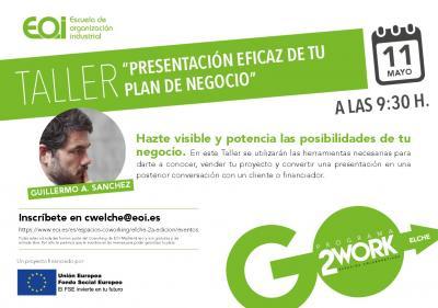 Taller Presentación eficaz de tu plan de negocio