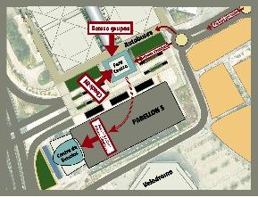 Plano Acceso Feria Valencia