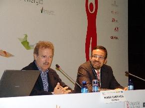 José María Guijarro presentó la ponencia de Campo Vidal en el DPE