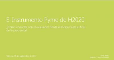 ¿Cómo conectar con el evaluador desde el índice hasta el final de la propuesta?