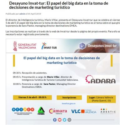 Invat·tur: El papel del big data en la toma de decisiones de marketing turístico