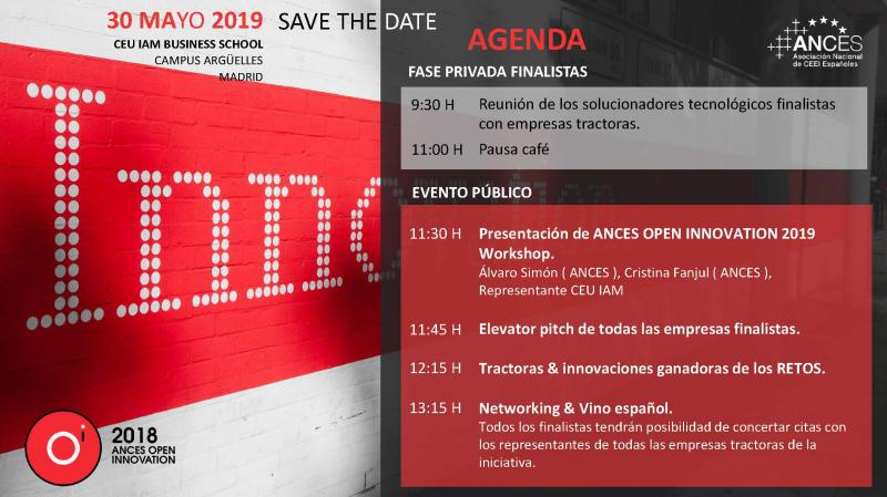 Ances Open Innovation 2019[;;;][;;;]
