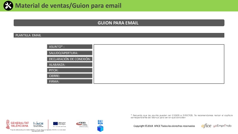 23 - Guión Email