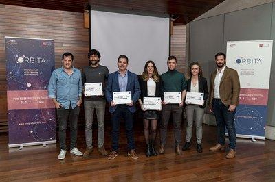 Entrega de premios de la segunda edición del Programa Órbita