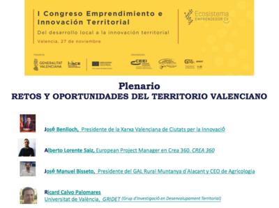 Retos y oportunidades del territorio valenciano