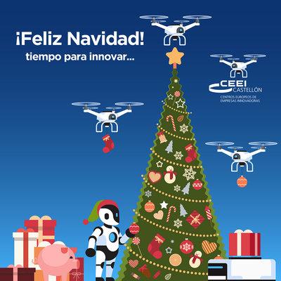 CEEI Castellón os desea Feliz Navidad