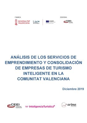 Análisis de los Servicios de Emprendimiento y Consolidación de Empresas de Turismo Inteligente en la Comunitat