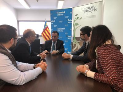 CEEI Castellón y Banco Sabadell renuevan su compromiso común de apoyo a los emprendedores